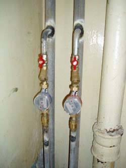 Замена стояков горячей и холодной воды в Спасске-Дальнем, монтаж стояков водоснабжения